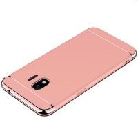Hardcase Platting Chrome 3in1 Slim Cover Case Casing HP Samsung J2 Pro