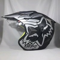 JUAL! HELM JPX SEMI CROSS FOX