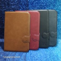 Samsung Note 8 / N5100 Sarung Tablet Kulit FS Leather Case Blue Moon P