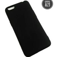 Softcase Slim Black Matte oppo A71