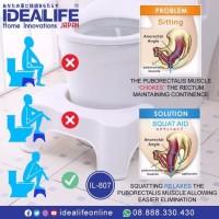 PDW - IDEALIFE IL 807 - Alat Untuk PUP Sehat - SQUAT AID Potter