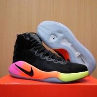 Sepatu Basket Hyperdunk 2016 High Unlimited Black Hitam
