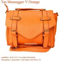 TasKasual Mesengger V orange