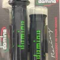 Handgrip DOMINO UNIVERSAL BLACK & BLACK GREEN ORIGINAL