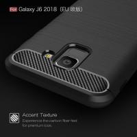 Samsung Galaxy J6 2018 Slim Carbon Softcase Armor Bumper