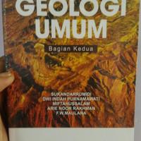 Buku Geologi Umum Bagian Kedua Edisi Full Colour - Sukandarrumidi. dkk