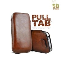 Universal Leather Pouch Case HP Casing Cover Kulit Sarung