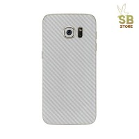 Samsung S7 / S7 Edge 3D Clear Carbon Fiber Back Skin