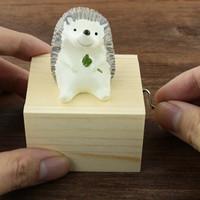 Cute Animal Wooden Music Box