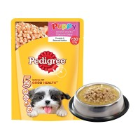 Pedigree - 130g Puppy Pouch Chicken kornet sachet