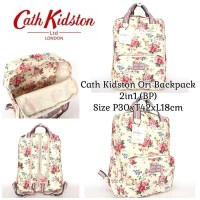 tas Ransel Cath Kidston Ori Backpack 2in1 (BP)
