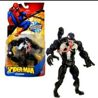 Mainan Figure Spiderman Venom Scorpion Stinger Hasbro Artikulasi