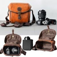 Tas Kamera Sling Bag Camera Mirrorless DSLR - Retro