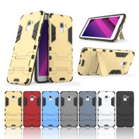 Case Casing Samsung A8 2018 Ironman Hybrid With Kick Stand
