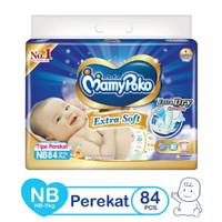 Harga mamypoko extra dry tape nb 84 newborn popok perekat bayi new | Pembandingharga.com