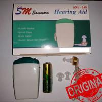 Hearing Aid Sammora / Alat bantu dengar pakai kabel / jernih sm-348