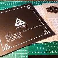 3d printer Hot bed base printing sticker