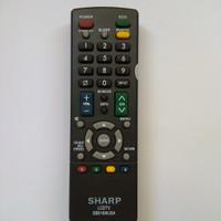 Harga remot remote tv sharp lcd led gb016wjsa copy   antitipu.com