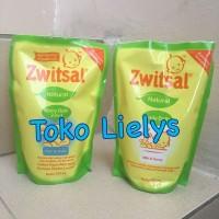 Zwitsal Baby Bath 2in1 Hair & Body Milk & Honey Refill Pouch 450ml