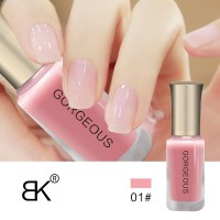 BK Gorgeous Nude 01 Transparent Nail Polish Kutek Transparan