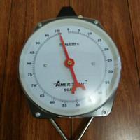 Timbangan gantung model jam 100kg