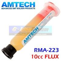 Flux Pasta Amtech 10cc RMA-223 RMA223 Rosin Songka Suntik Timah Solder