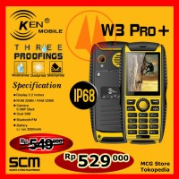 Harga handphone hp anti air ip68 ken w3 plus cellphone telpon | WIKIPRICE INDONESIA