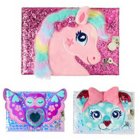 SMIGGLE TACTILE A5 LOCKABLE NOTEBOOK - DIARY SMIGGLE