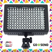 Lightning Kamera 160 LED - LD-160 - Black