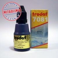 Tinta untuk plastik, kaca, keramik Trodat 7081 warna Hitam