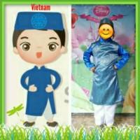 Baju Karnaval/Baju Adat/negara vietnam anak laki laki