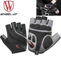 Sarung Tangan Sepeda Gel - WHEEL UP Half Finger Gloves