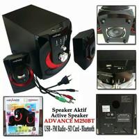 SPEAKER AKTIF BLUETOOTH USB FLASHDISK ADVANCE M250BT GROSIR TERMURAH