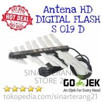 Harga antena tv hd digital flash 19d antenna anten led lcd plasma 14 18 | Hargalu.com