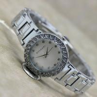 laris jam tangan murah Bvlgari wanita / jtr 1115 silver