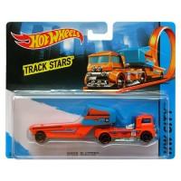 Hot Wheels Track Stars SPEED BLASTER Orange Truck