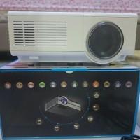 proyektor mini tj600d projector kecil murah projector hp usb tv vga t