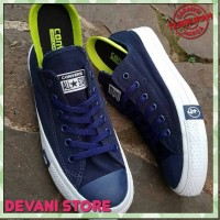 Sepatu Casual Converse All Star CT x Undefeated Navy Blue Import Vietn
