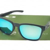 Kacamata CATALYST Matte Black Lens Light Blue