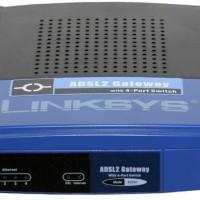 (Linksys AG241 - Modem ADSL/ADSL2 - 4 Port Router)