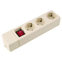 Stopkontak arde outbow 3 lubang switch Uticon ST-1382NC
