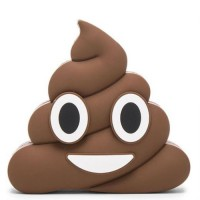 Termurah !! Power Bank Emoji Model Kotoran 2600mAh