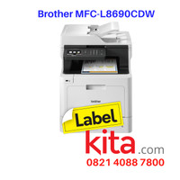 Printer Laser Brother MFC-L8690CDW A4 Colour Multifunction