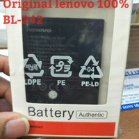 Original POST BATTERY/BATERAI LENOVO A6000/A6010 BL242