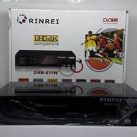 DIGITAL terestrial RECEIVER rinrei DRN-511 W / SET TOP BOX , TERJERNIH