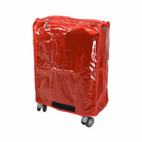 Sarung Koper Plastik merk Passport ukuran S 20 inch warna Merah