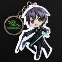 Gantungan Kunci Anime Kirigaya Kazuto Kirito Sword Art Online SAO