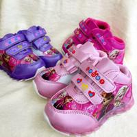 Sepatu Kets Sneaker Frozen untuk Anak Perempuan / Cewek