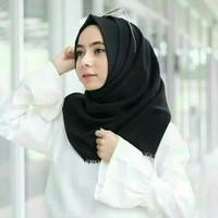 Hijab Hitam / Jilbab Hitam / Jilbab hijau / Jilban Ungu / Pink / Rawis