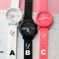 Jam tangan wanita PUMA rubber nike dkny Ck guess